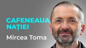 Mircea Toma, jurnalist și președintele ActiveWatch, la Cafeneaua Nației