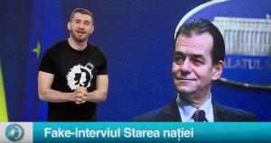 Fake-interviul Starea nației