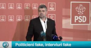 Politicieni fake, interviuri fake