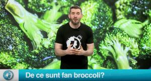 De ce sunt fan broccoli?