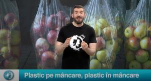 Plastic pe mâncare, plastic în mâncare
