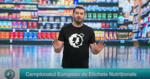 Campionatul European de Etichete Nutriționale