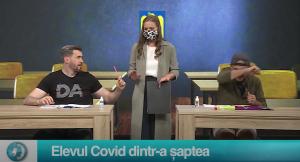 Elevul Covid dintr-a șaptea
