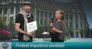 Protest împotriva sănătății