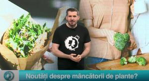Noutăți despre mâncătorii de plante?