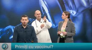Primiți cu vaccinul?