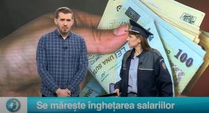 Se mărește înghețarea salariilor