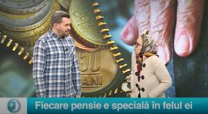 Fiecare pensie este specială în felul ei