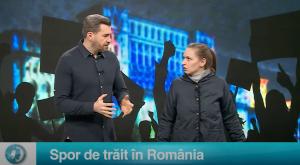Spor de trăit în România
