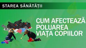 Cum afectează poluarea viața copiilor