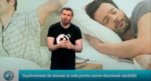 Suplimentele de stomac și cele pentru somn dăunează sănătății